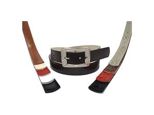 Cinturón de cuero para mujer. Cinto, correa, belt, leather.
