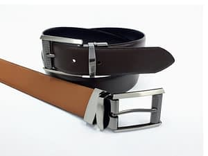 Cinturón de cuero para hombre. Cinto, correa, cuero, leather.