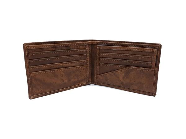 Billetera de cuero para hombre. Wallet, leather.