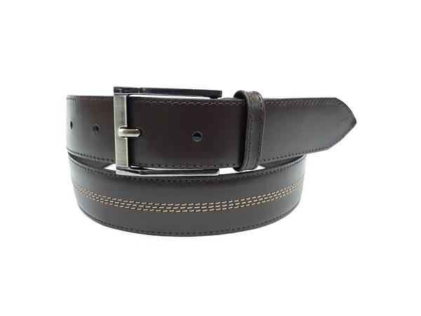 Cintruón de cuero para hombre. Cinto, correa, belt, leather.