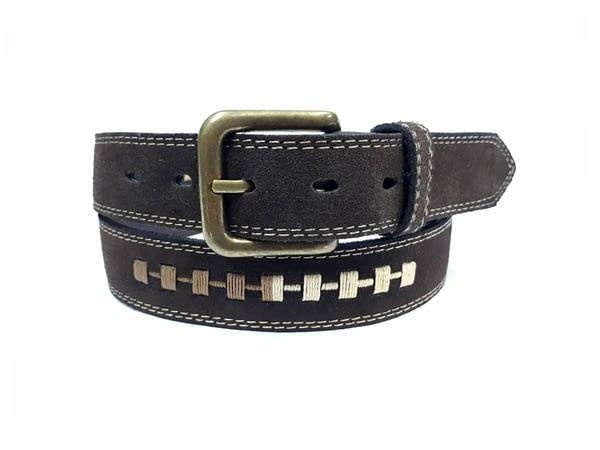 Cintur{on de cuero para hombre. Cinto, correa, belt, leather.