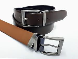 Cinturón de cuero para caballero. Cinto, correa, belt, leather.