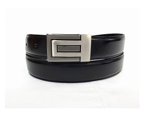 Cinturón de cuero para hombre. Cinto, correa, belt, leather.